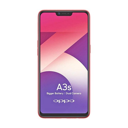 Oppo A3s (RAM 3GB/32GB) - Red