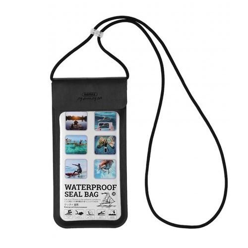 Remax Outdoor Waterproof Phone Seal Bag Case RT-W3 - Black