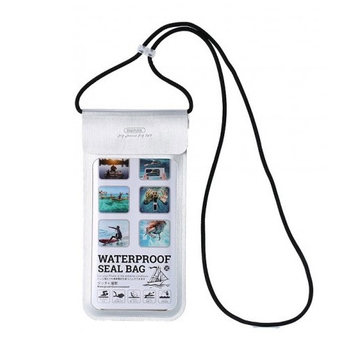 Remax Outdoor Waterproof Phone Seal Bag Case RT-W3 - Silver