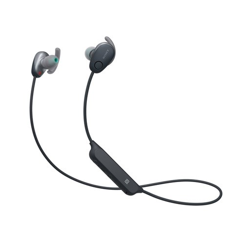 Sony Sports Wireless Noise Canceling In-ear Headphones WI-SP600N - Black