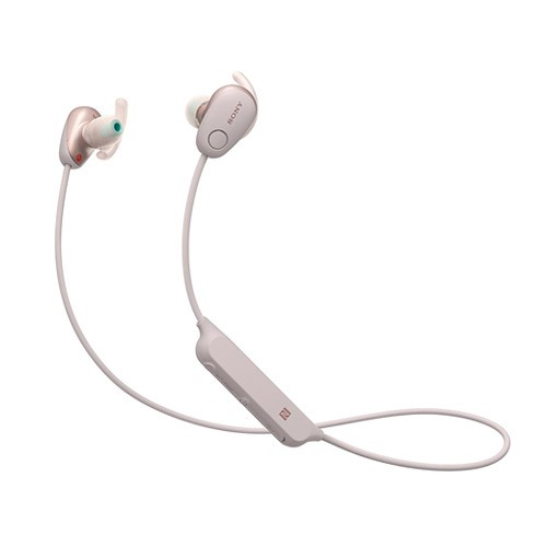 Sony Sports Wireless Noise Canceling In-ear Headphones WI-SP600N - Pink