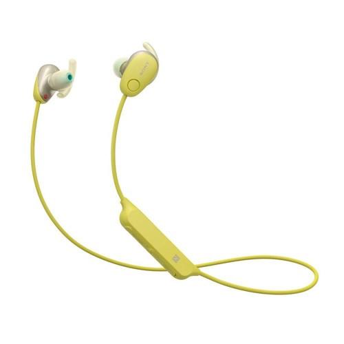 Sony Sports Wireless Noise Canceling In-ear Headphones WI-SP600N - Yellow