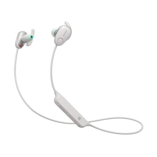 Sony Sports Wireless Noise Canceling In-ear Headphones WI-SP600N - White
