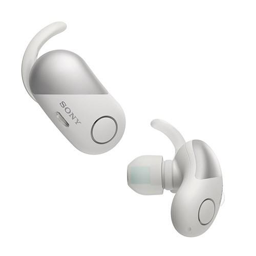 Sony Truly Wireless Noise Cancelling Sport in Ear Headphone WF-SP700N - White