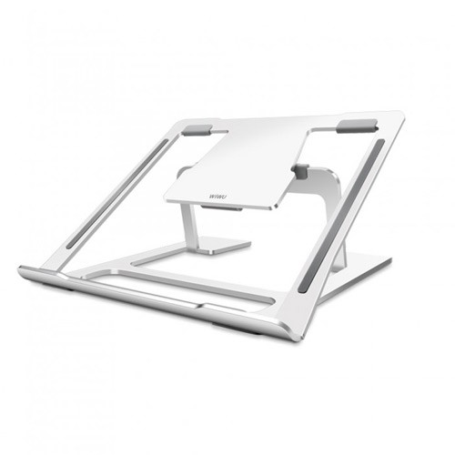 Wiwu Laptop Stand Aluminum for MacBook Air Pro 11-15.6 inch - Silver