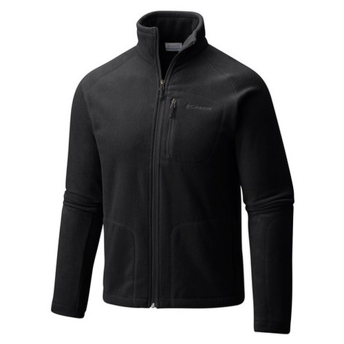 Columbia Fast Trek II Full Zip Fleece Black (XL) Apparel MN