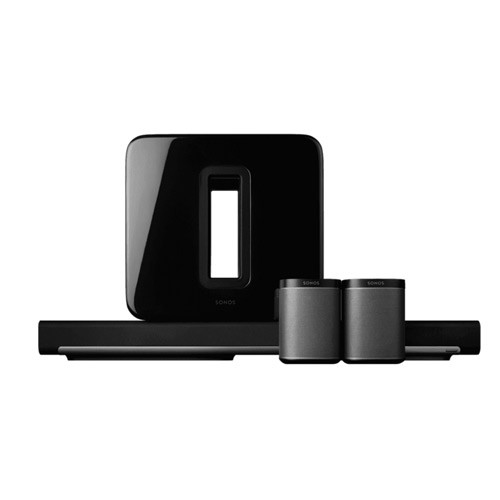 Sonos 5.1 Surround Sound Package with PLAYBAR and PLAY 1