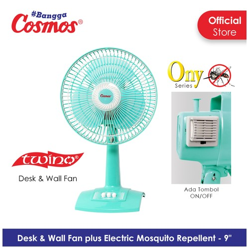 Cosmos 9-DNA ONY - Kipas Angin 2in1 - 9 inch (Desk & Wall)