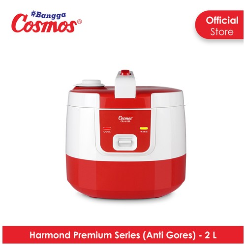 Cosmos Harmond CRJ-6288 - Rice Cooker 2 L - Red