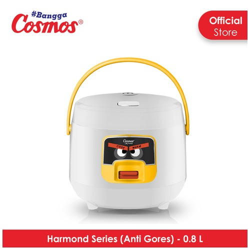 Cosmos Harmond CRJ-6601 - Rice Cooker 0.8 L - White)