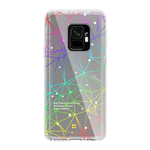 Casestudi Prismart Case for Galaxy S9+ Geometry White