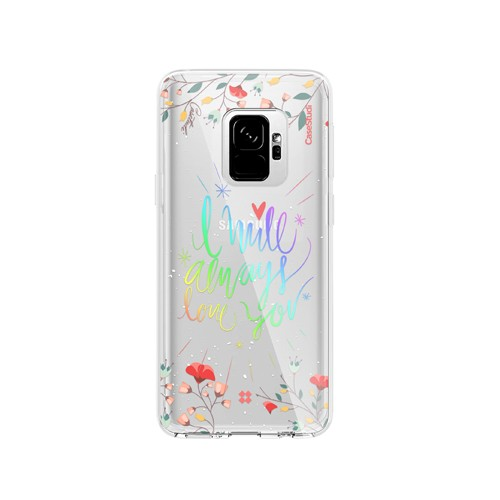 Casestudi Prismart Case for Galaxy S9+ I Will Always Love You