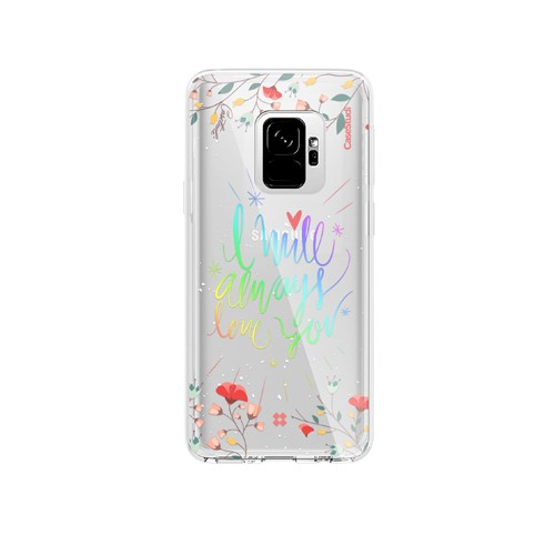 Casestudi Prismart Case for Galaxy S9 - I Will Always Love You