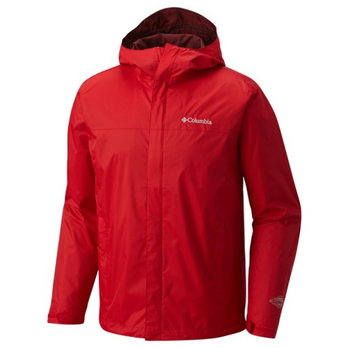Columbia Watertight II Jacket Red Spark (S) Apparel MN