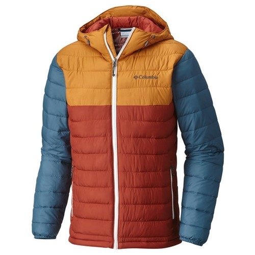 Columbia Powder Lite Hooded Jacket Rusty Canyon Gold (L) Apparel MN