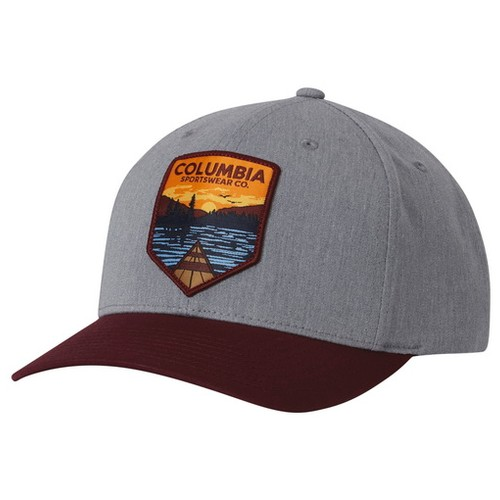 Columbia Trail Essential Snapback - Hat Charcoal Heather (O/S) Headwear US