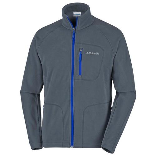Columbia Fast Trek II Full Zip Fleece Graphite Azul (XL) Apparel MN