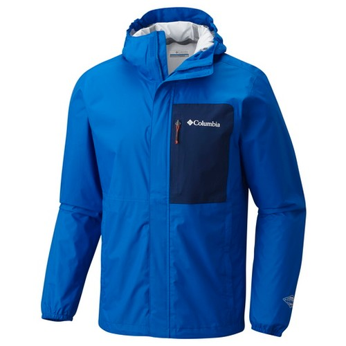 Columbia Summit Sleeker Shell Super Blue Carbon (S) Apparel MN