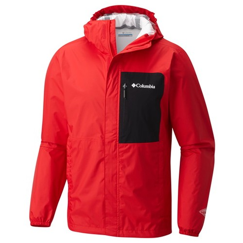 Columbia Summit Sleeker Shell Red Spark Black (M) Apparel MN