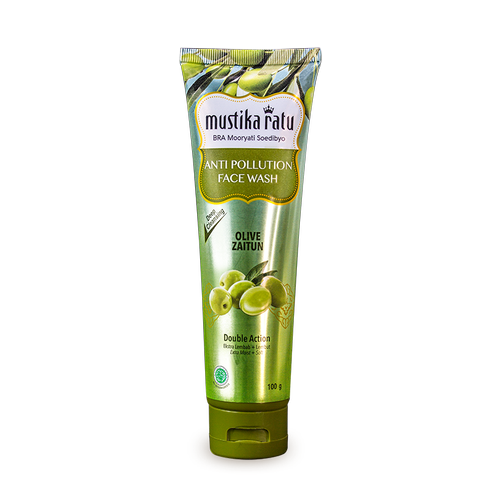 ANTI POLLUTION FACE WASH ZAITUN 100gr