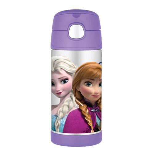 Thermos F4015fzs Disney Frozen Straw Bottle