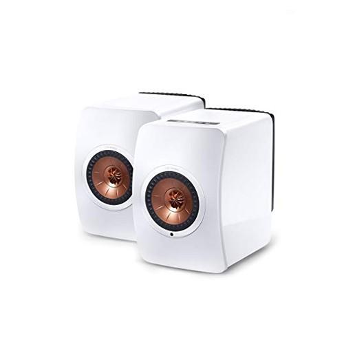 KEF LS50 Wireless Speaker Gloss - White/Copper