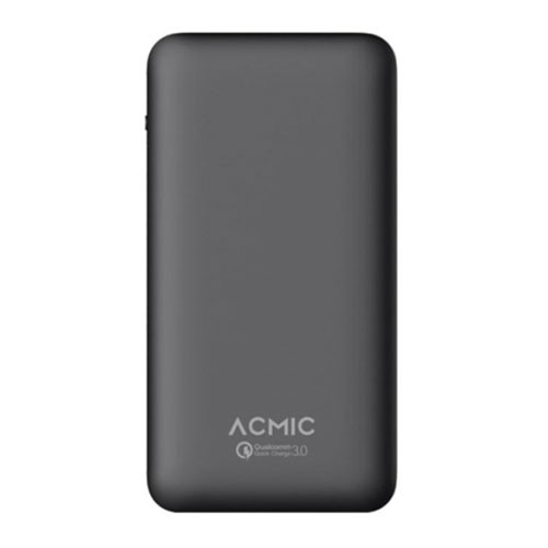 ACMIC Power Bank A10PRO 10.000 mAh with Quick Charge 3.0 + Power Delivery - Black