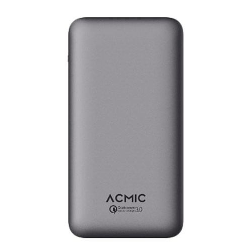 ACMIC Power Bank A10PRO 10.000 mAh with Quick Charge 3.0 + Power Delivery - Grey
