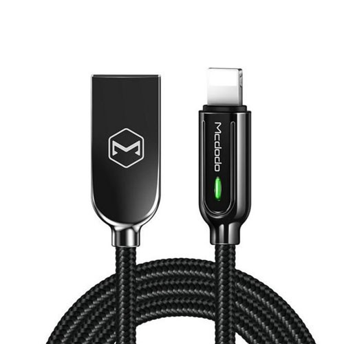 Mcdodo Auto Disconnect Lightning Data Cable 1.2 M - Black