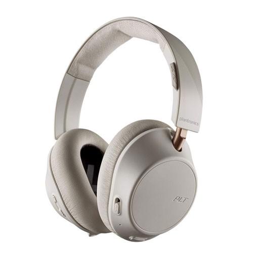 Plantronics Backbeat Go 810 ANC Wireless Headphones - Bone White
