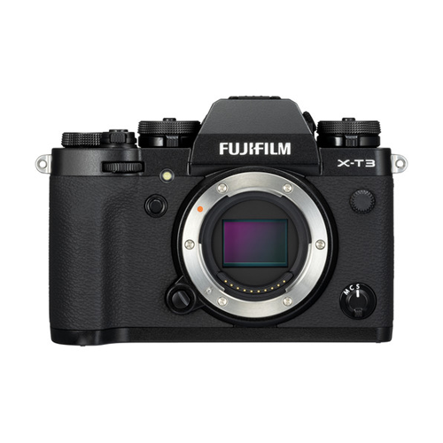 Fujifilm Mirrorless Digital Camera X-T3 Body only - Black
