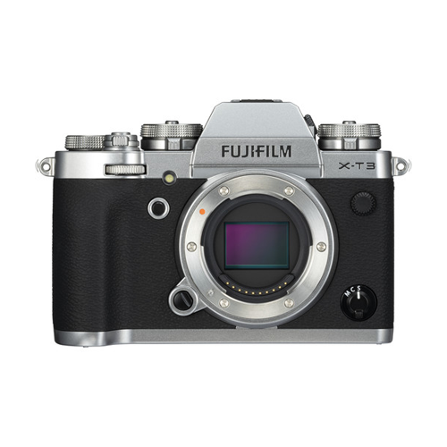 Fujifilm Mirrorless Digital Camera X-T3 Body only - Silver