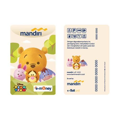 Mandiri eMoney Tsum Tsum - Winnie The Pooh & Friends