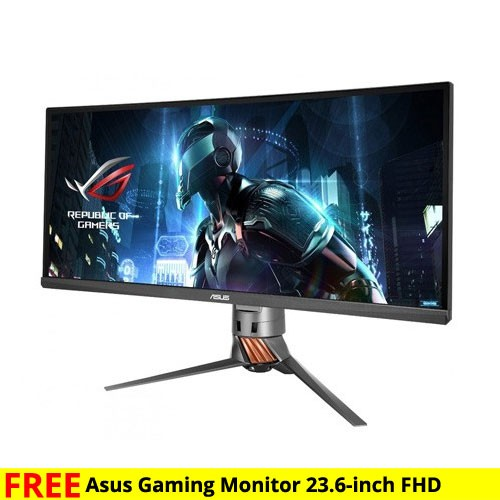 ASUS ROG Swift Curved Ultra Wide Gaming Monitor PG348Q - 34 inch