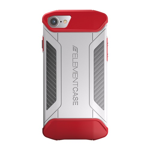 Element Case CFX for iPhone 7/8 - White/Red