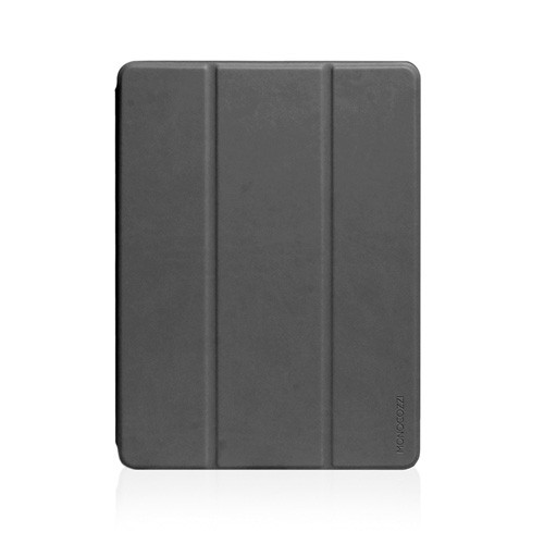 Monocozzi Case iPad 9.7 (2018) With Pencil Slot Lucid Folio - Charcoal