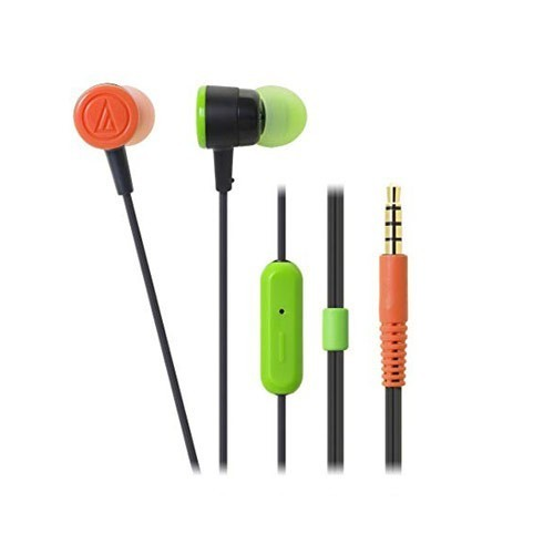 Audio Technica In Ear Headphone ATH-CKL220iS - Black Crazy