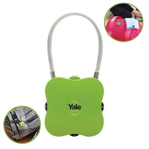 Yale Novelty Lock Range Groove YP4/41/350/1 - Green