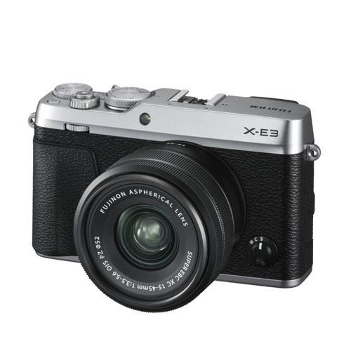 Fujifilm Mirrorless Digital Camera X-E3 with 15-45mm - Silver