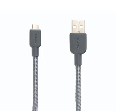 Sony CP-ABP150/H (cable premium nylon usb A - micro USB) - Grey
