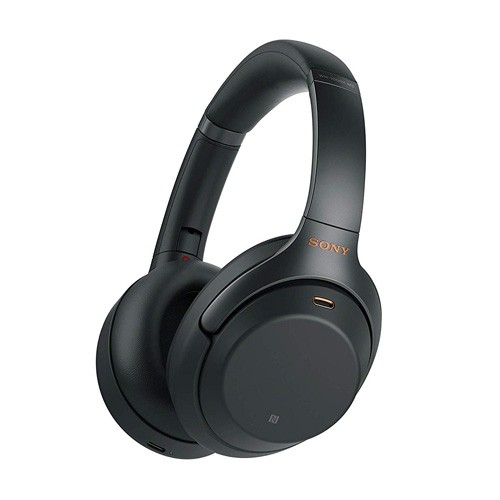 Sony Wireless Noise-Cancelling Headphones WH-1000XM3/B - Black