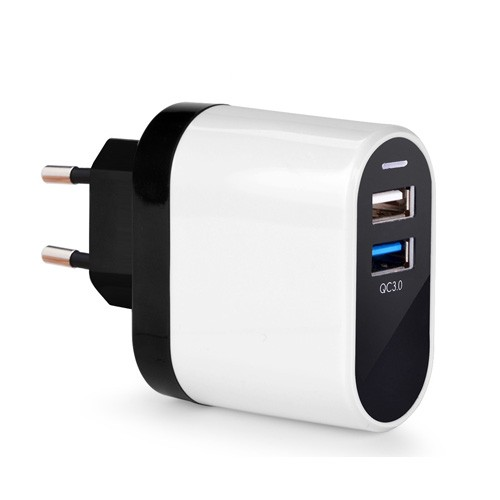 Avantree Wall Charger 4.5Amp Dual USB Quick Charger Fast charging Kepala Charger QC - TR603