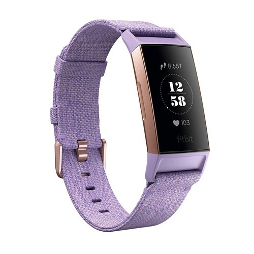 Fitbit Charge 3 SE Fitness Tracker - Lavender Woven