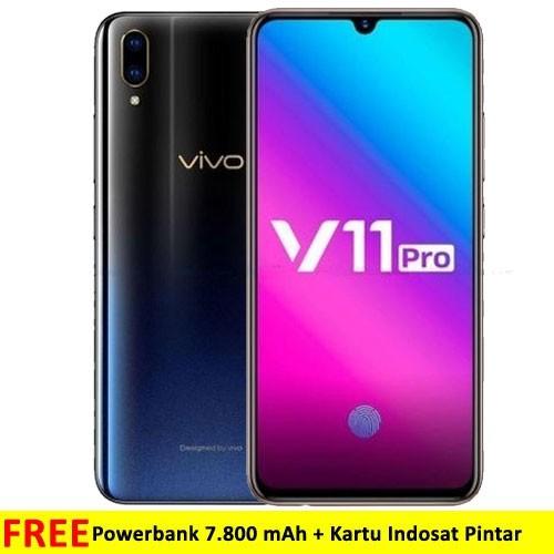 Vivo V11 Pro (RAM 6GB/64GB) - Starry Black
