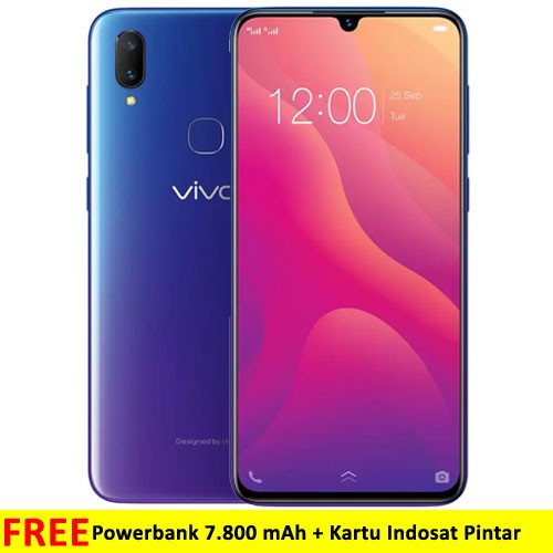 Vivo V11 (RAM 6GB/64GB) - Nebula Purple