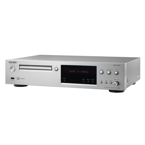 Onkyo Network CD Player Hi-Res Sound C-N7050 - Silver