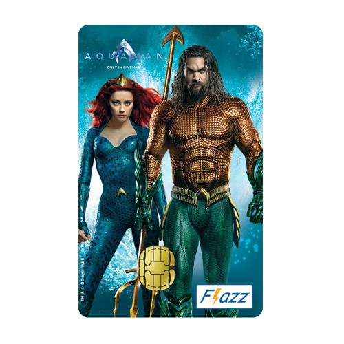 BCA Flazz - Aquaman & Mera