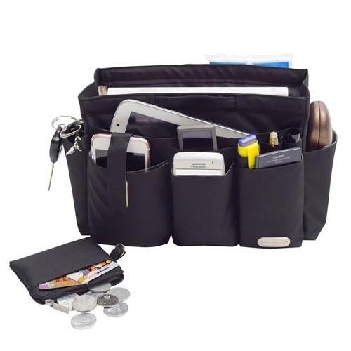 Axella Handbag Organizer 29.5 x 15 x 18.5 - Black
