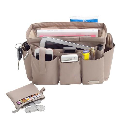 Axella Handbag Organizer 29.5 x 15 x 18.5 - Khaki