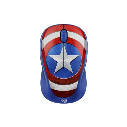 Logitech Wireless Mouse M238 - Captain America